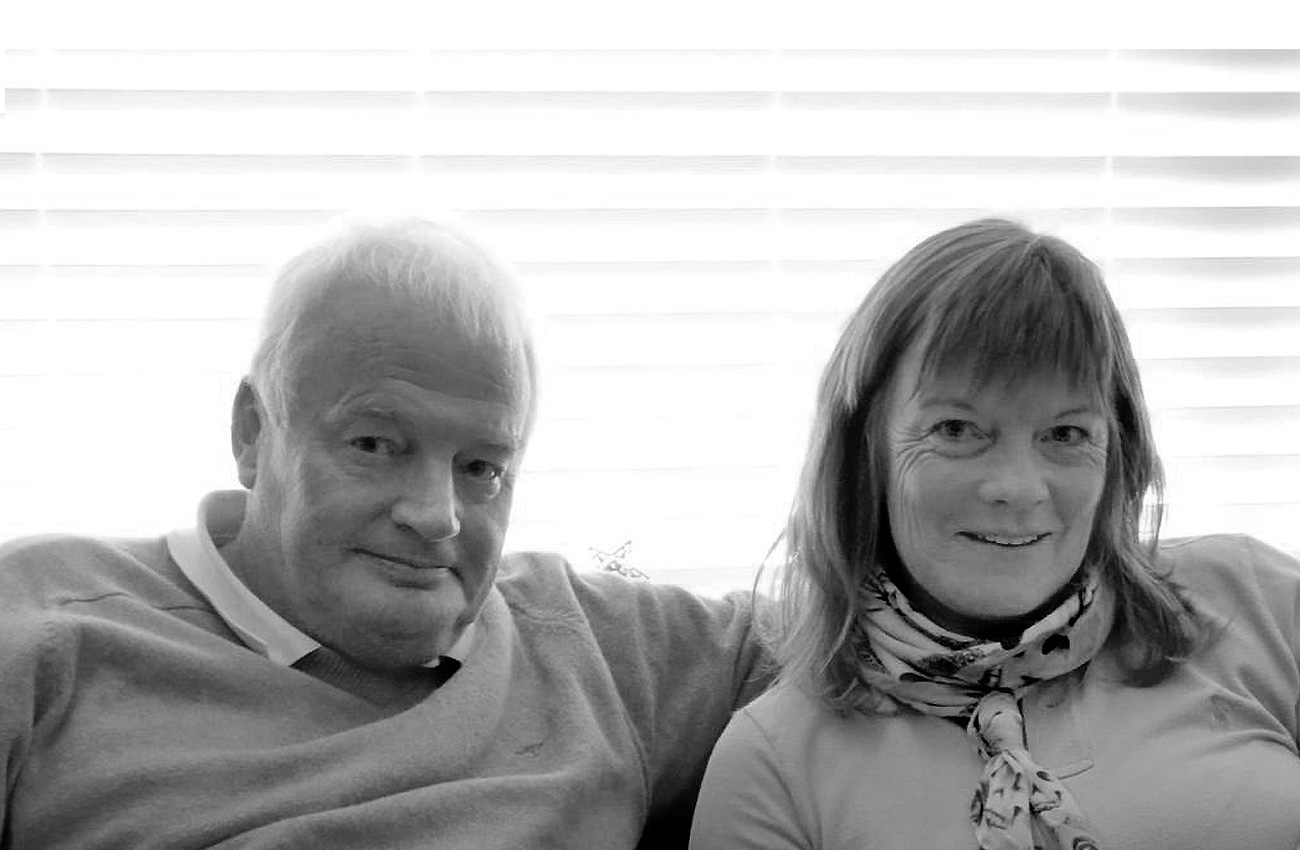Peter & Pauline Naylor, founders of Inroads International Ltd